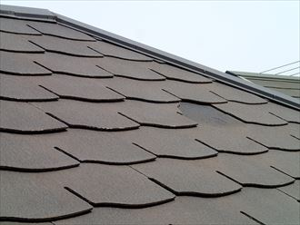 千葉市中央区|屋根の葺き替えか補修工事かの調査