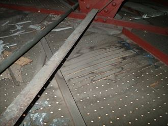 市原市 工場内体育館の漏水調査024_R