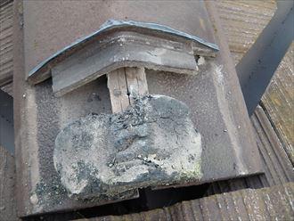袖ヶ浦市 セメント瓦の漆喰調査006_R