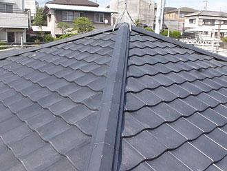 ルーガ雅で屋根葺き替え工事