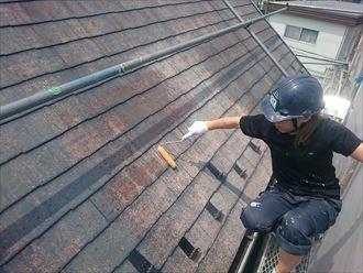 千葉市緑区 下塗り 屋根塗装 007_R