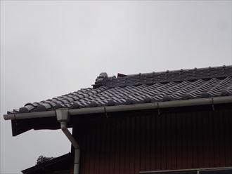 東金市 台風で棟瓦のズレ003_R