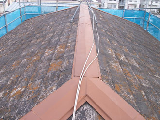 君津市 スレート屋根