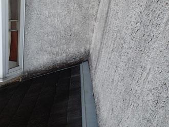 多古町 外壁の汚れ