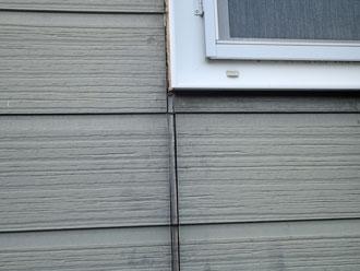 東庄町 外壁シーリング確認作業