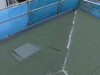 茂原市 屋根材設置