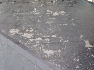 富津市 屋根塗装傷み