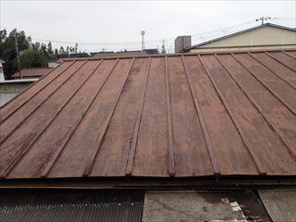千葉市 倉庫屋根の雨漏り調査008_R