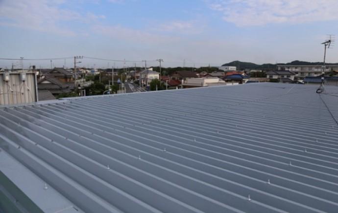 屋根カバー工法 竣工