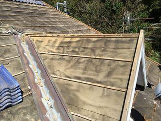 勝浦市 屋根葺き替え工事 剥がし012_R