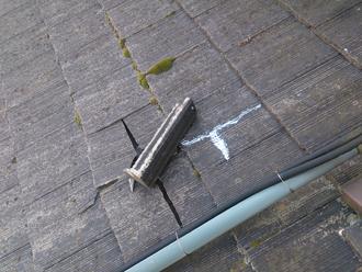 匿名様 袖ケ浦市 瓦落下 瓦破損 屋根補修