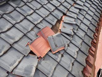 いすみ市 和瓦の雨漏り調査010_R