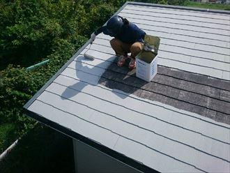 木更津市 屋根塗装 コロニアル010_R