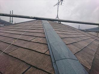 君津市 屋根の塗装工事 高圧洗浄004_R