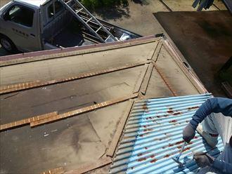 君津市 屋根葺き替え工事 GL波板003_R