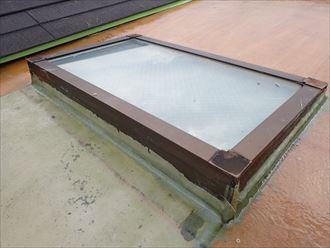 FRP防水でガラスマットで防水層を作ります