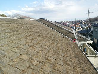 船橋市 屋根塗装前 屋根点検