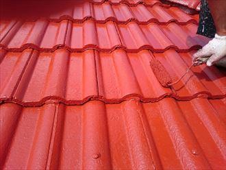 佐倉市 モニエル瓦の屋根塗装工事011_R