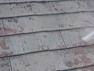 高圧洗浄,屋根材,下地
