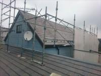 千葉市緑区風災補修を棟板金取替とヤネフレッシュSi屋根塗装の同時施工!ビフォー