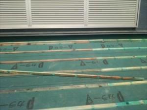 富津市の雨漏り修理屋根葺き直し工事