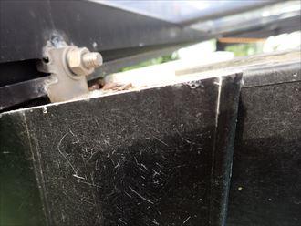 勝浦市 カーポート屋根の被災007_R