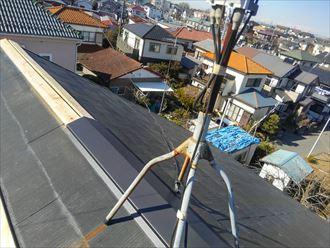 君津市 新規貫板の設置