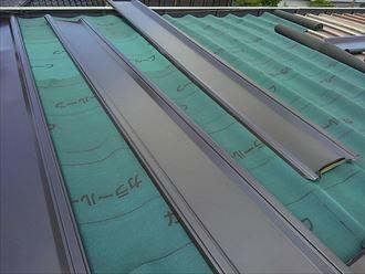 習志野市 屋根材の配置