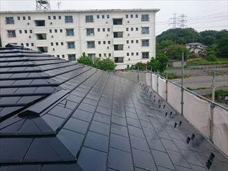 市原市 セメント瓦 屋根塗装工事003_R