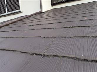 人造スレート屋根