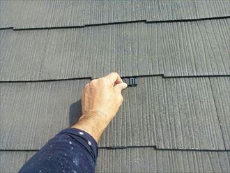 富津市 屋根塗装の下処理001_R