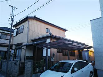 千葉市中央区大巌寺町にて屋根点検