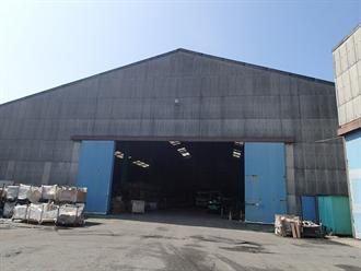千葉市美浜区新港の工場