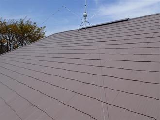 2年前に屋根塗装済