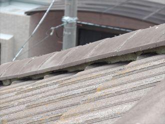 袖ヶ浦市 セメント瓦の漆喰調査001_R