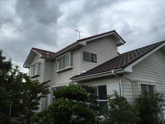 長生郡睦沢町で屋根葺き替え工事の点検調査