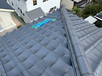 屋根の応急処置