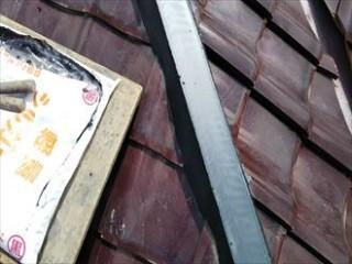 千葉市緑区で軽量シルガードを使用し棟瓦取り直し・漆喰(しっくい)詰め直し工事アフター