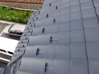 屋根の葺き替えが完了