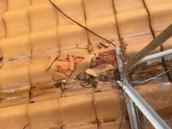 立平葺きでの屋根工事