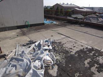 屋上の雨漏り