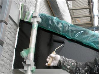 塗装前の養生処理