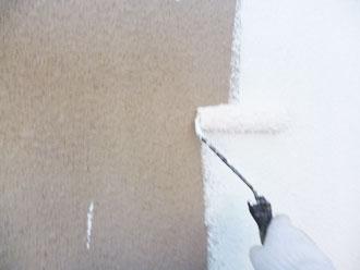印旛郡栄町 外壁塗装 下塗り