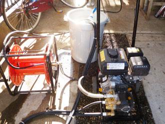 印旛郡栄町 高圧洗浄機