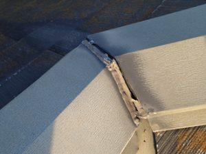 棟板金のシーリング劣化