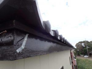 雨樋の破損部分(詳細)