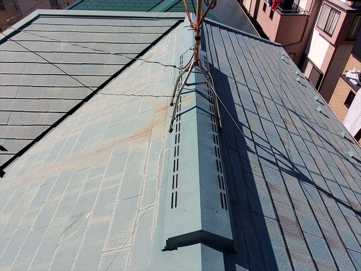 流山市平和台でスレート屋根調査を行いました