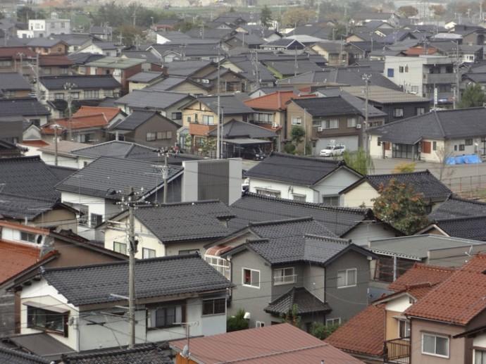 さまざまな形状の屋根