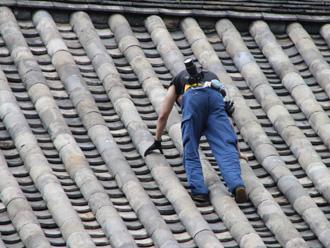大規模な屋根工事