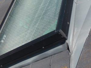 トップライト設置されている屋根